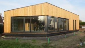 maison passive Mérignies système Alphawin Purista Architecte Vincent Delsinne
