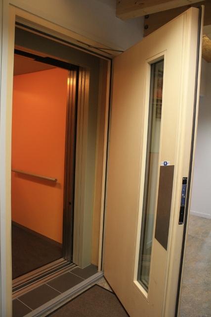 pegase porte passives sas ascenseur Architecte Bureau Impact Pierre Coppe
