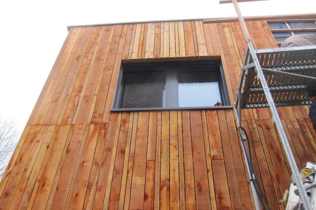 Wervicq Sud bardage aulne Architecte Concepteur Bureaux Fava/Symoe