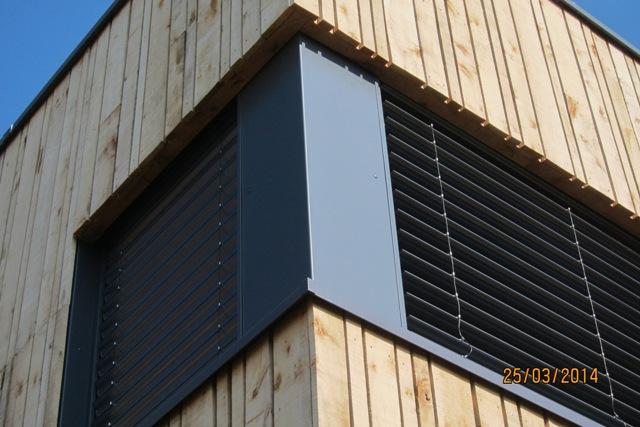 Wervicq Sud store BSO  Architecte Concepteur Bureaux Fava/Symoe